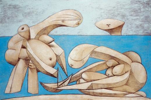 Picasso - Baigneuses sur la plage (1937)