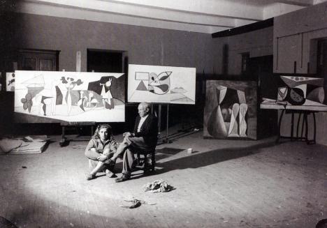 Picasso en 1947