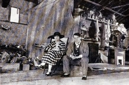Picasso et Olga en 1919