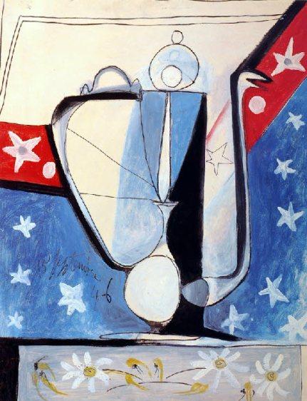 """Picasso """"L'aiguière"""" peint en 1946 à Golfe-Juan chez un ami graveur"""