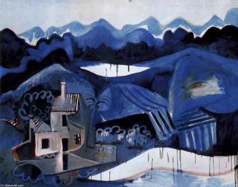 Picasso Paysage de Mougins (1963)