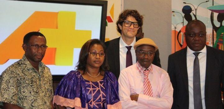 Le groupe CANAL + a mis en orbite, le 24 octobre dernier, sa nouvelle chaîne « A+ » à Ouagadougou, en présence de Damiano Malchiodi, directeur de la chaîne A+ (et ami de la Griotte), de Clément Kouamé, directeur général de Canal+ Burkina, et de Nouhoun Thanou, représentant le ministre de la Culture et du Tourisme, Baba Hama.