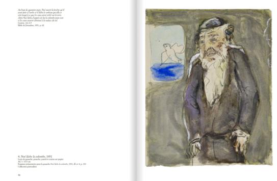 Pages extraites du livre Chagall, voyage dans la Bible