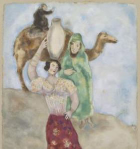 Chagall, Eliézer et Rebecca, 1931