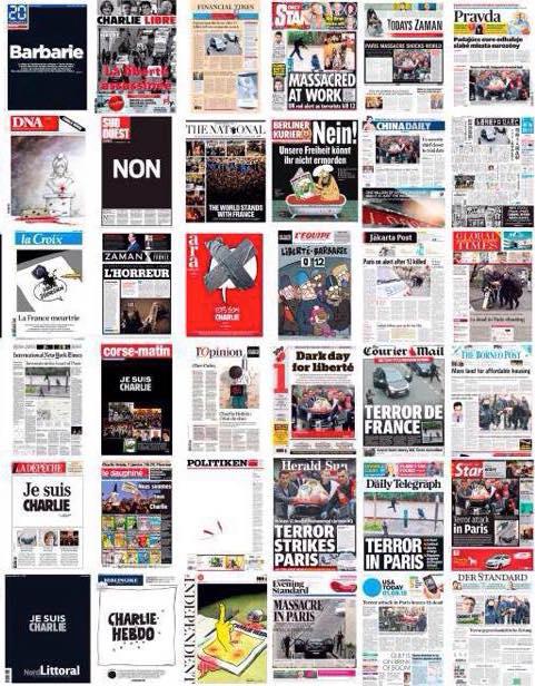 Les unes des journaux du 8 janvier 2