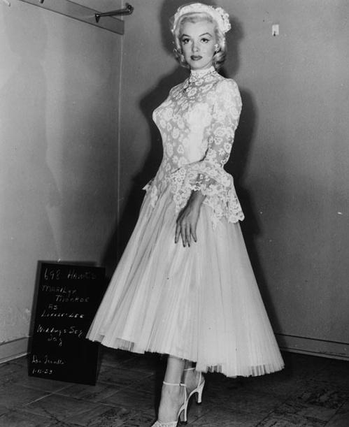 1953 - Marylin Monroe dans Les hommes préfèrent les blondes de Howard Hawks