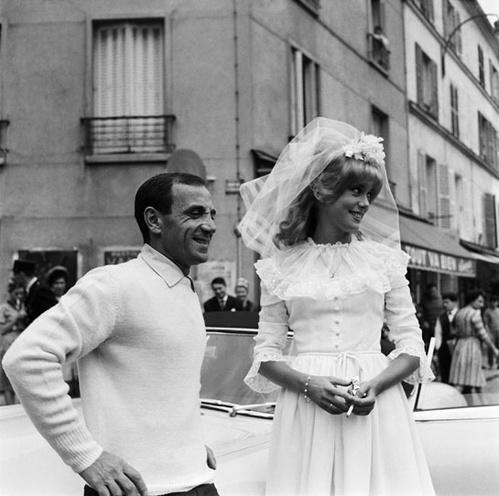 1963 - Catherine Deneuve et Charles Aznavour dansLe Vice et La Vertu de Roger Vadim