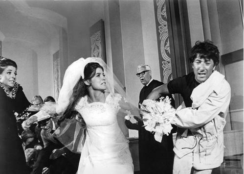 1967 - Katharine Ross et Dustin Hoffman dans Le Lauréat de Mike Nichols