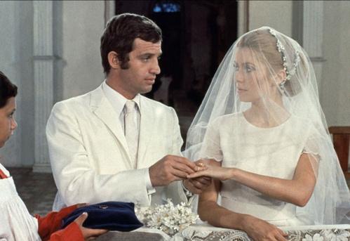 1969 - Jean-Paul Belmondo et Catherine Deneuve dans La Sirène du Mississipi de François Truffaut