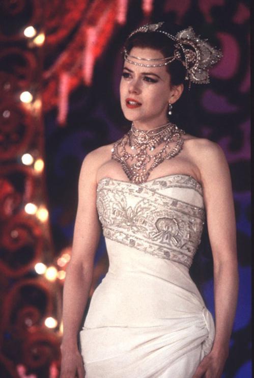 2001 - Nicole Kidman dans le film Moulin Rouge de Baz Luhrmann en 2001