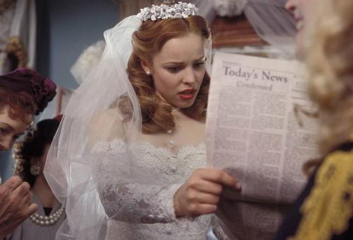 2004 - Rachel McAdams dans N'oublie jamais de Nick Cassavetes