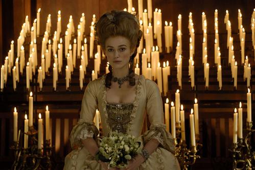 2008 - Keira Knightley dans The Duchess de Saul Dibb