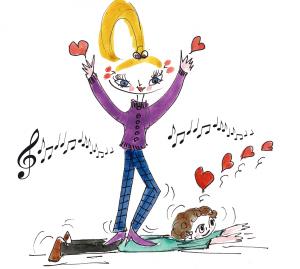 Cliquez sur l'image pour accéder à la playlist Saint-Valentin de la Griotte et montez le son