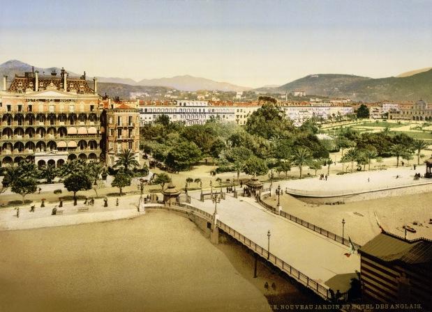 Hôtel des Anglais à Nice, 1890
