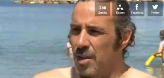 Laurent Bardin (Capture d'écran du reportage de France 3)
