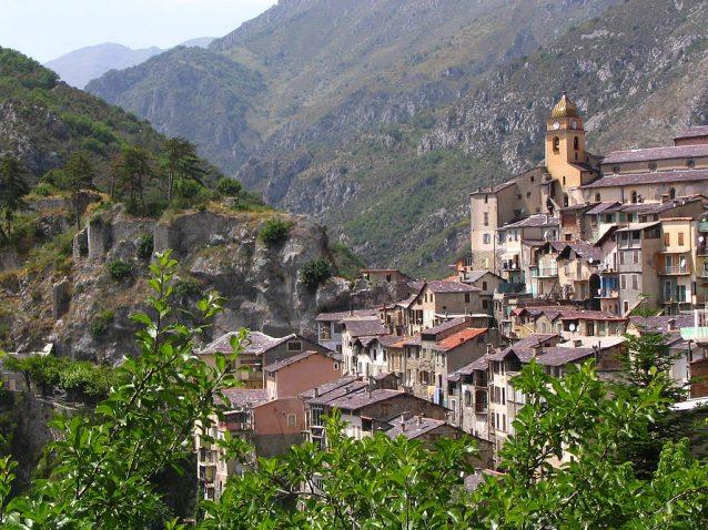 Le village de Saorge dans la Vallée des Merveilles