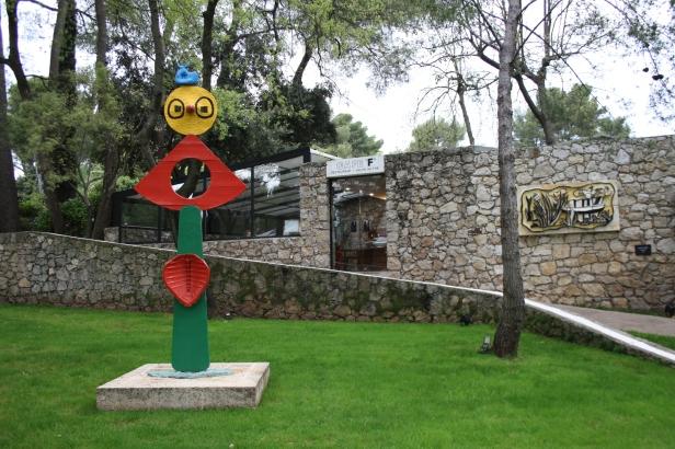 Juan Mirò e Fernand Léger, Fondation Maeght
