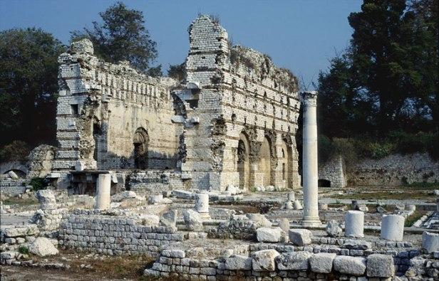 Les ruines romaines de Cimiez