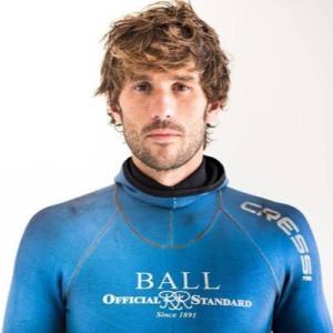 Gauillaume Néry, beau gosse niçois et champion du monde !!