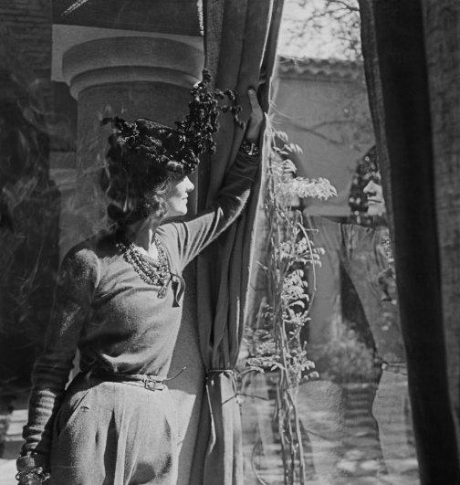Gabrielle Chanel à La Pausa