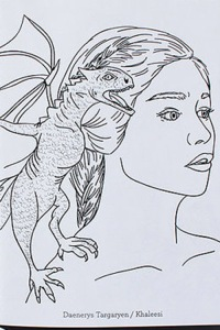 Game-of-Thrones-Coloring-Book-Daenerys-and-dragon