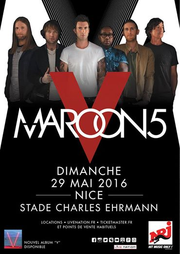 Maroon 5 en concert