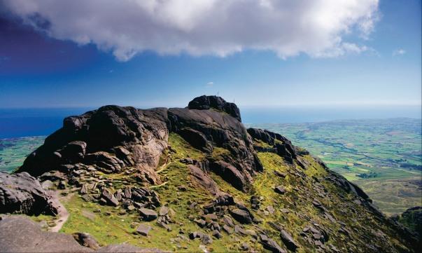 Les montagnes de Mourne en Irlande