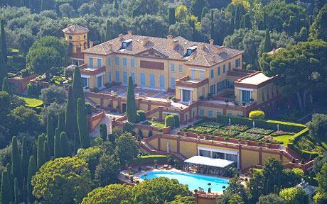 La villa Léopolda, ex villa la plus chère du monde....