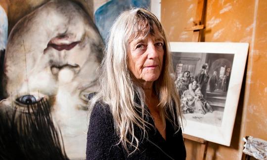 Gee Vaucher, l'artiste à l'origine de la photo l'oeuvre la plus partagée sur le Net hier !