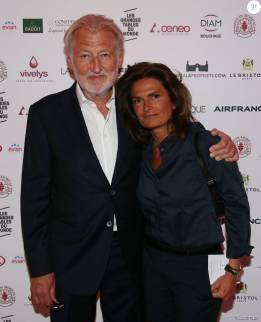 Sylvie Le Bihan Gagnaire et son mari, l'excellent et délicieux Pierre Gagnaire